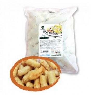 삼육유기농자연식품 채식 콩 스틱 탕수육 콩으로만든 고기