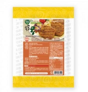 삼육유기농자연식품 채식 콩 너비아니 240g 콩으로만든 고기