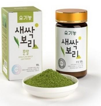 새뜸원 유기농 새싹보리 분말 100g