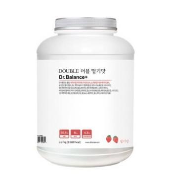 닥터발란스 더블 딸기맛 2.27kg 프로틴 파우더