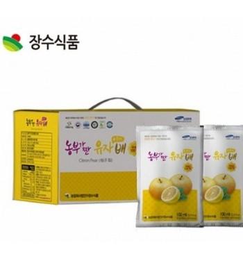 장수식품 농부가 짠 유자플러스배 100ml 30포
